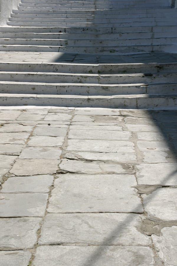 Escaleras al aire libre foto de archivo