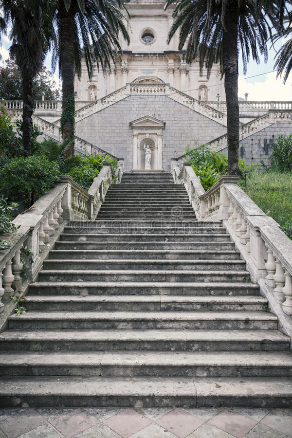 Escaleras antiguas fotos de archivo libres de regalías