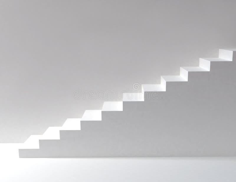 Escaleras blancas stock de ilustraci n ilustraci n de - Escaleras blancas ...