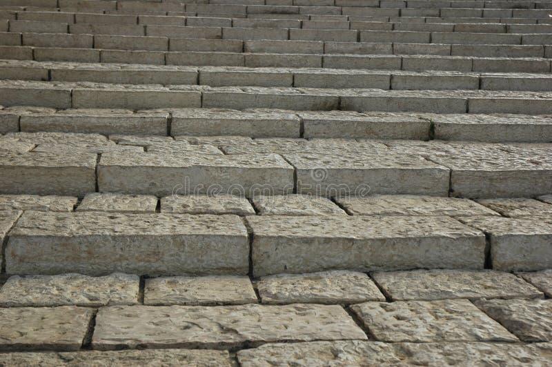 Escaleras blancas fotografía de archivo libre de regalías