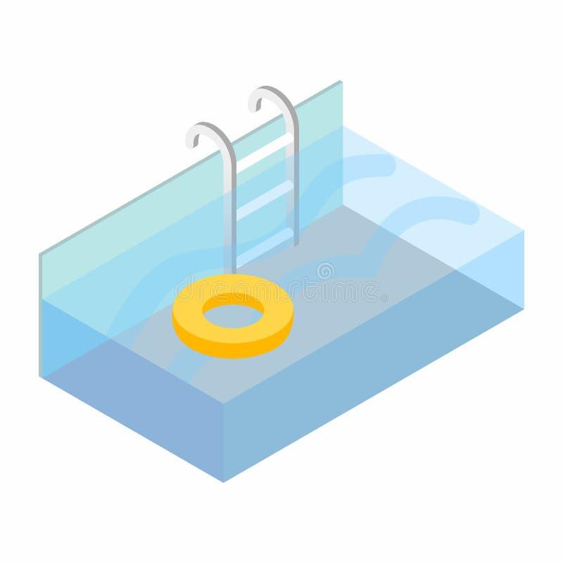 Escaleras de la piscina libre illustration