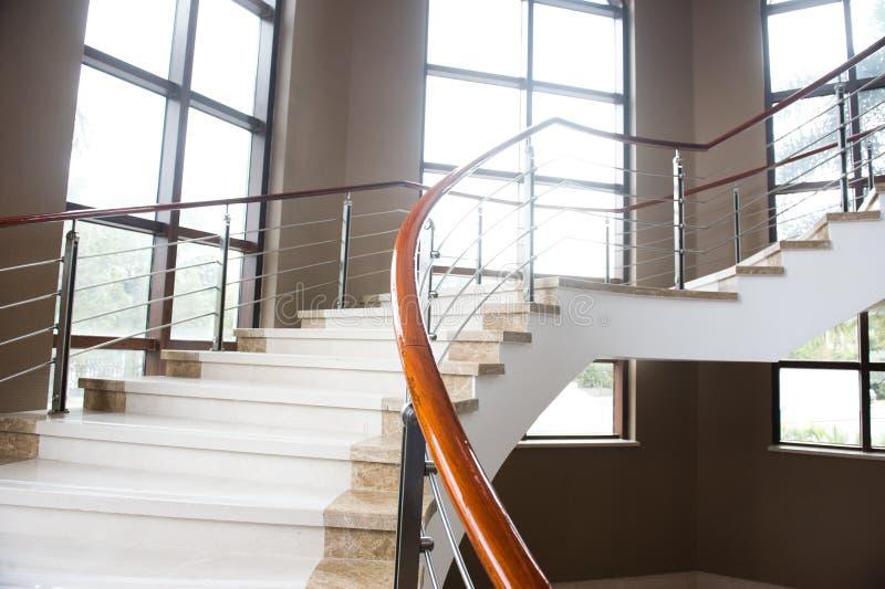Escaleras de mármol foto de archivo