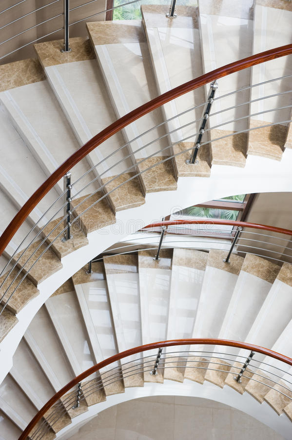 Escaleras de mármol fotografía de archivo