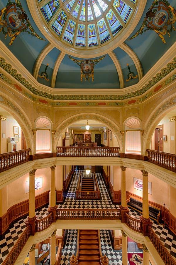 Escaleras del capitolio imágenes de archivo libres de regalías