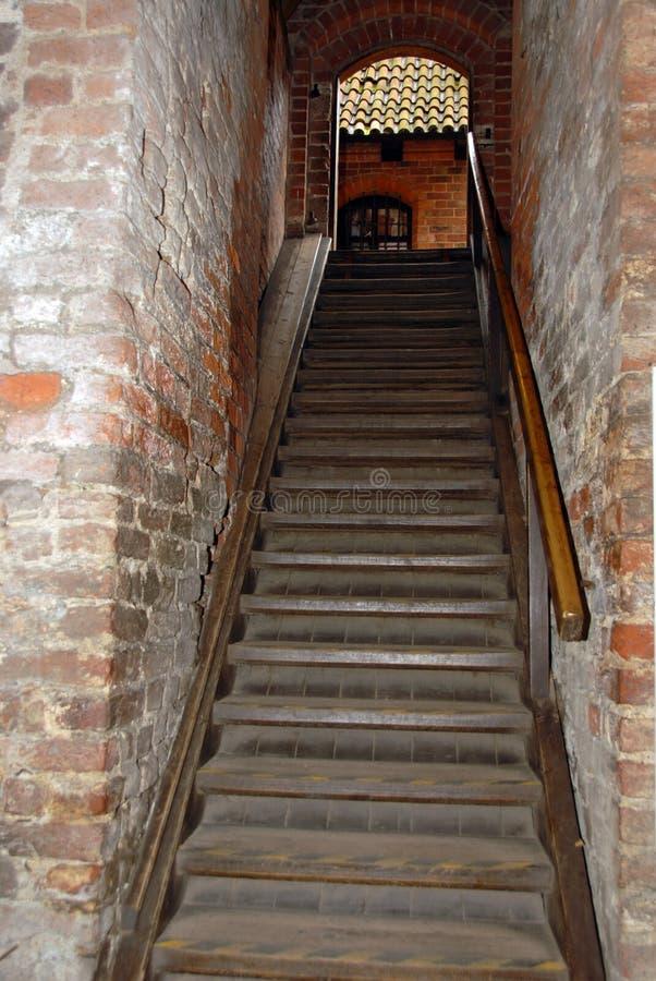 Escaleras del castillo fotos de archivo libres de regalías