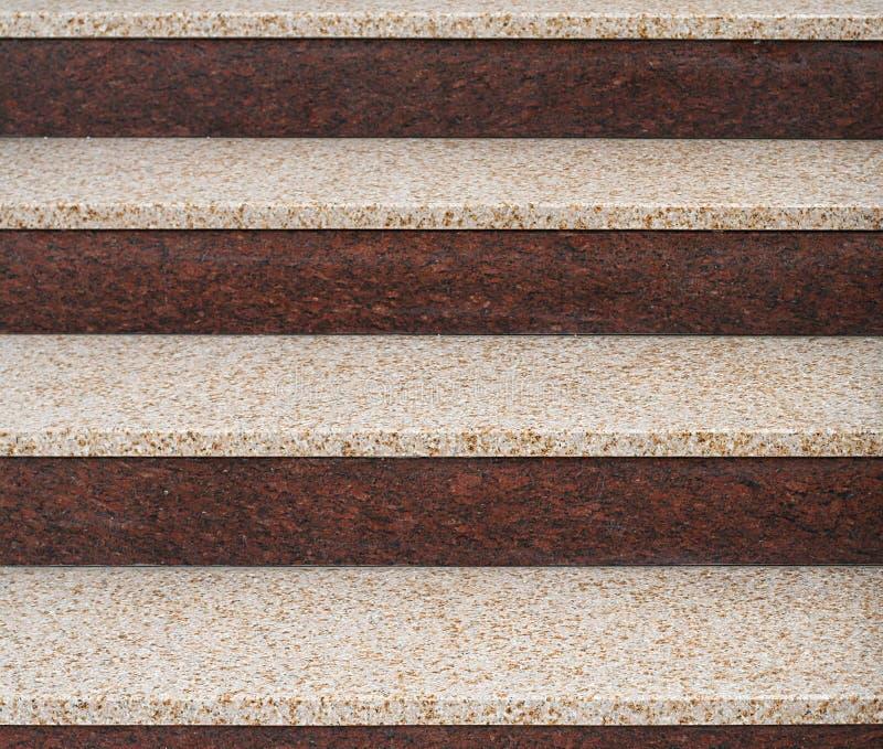 Escaleras del granito fotos de archivo