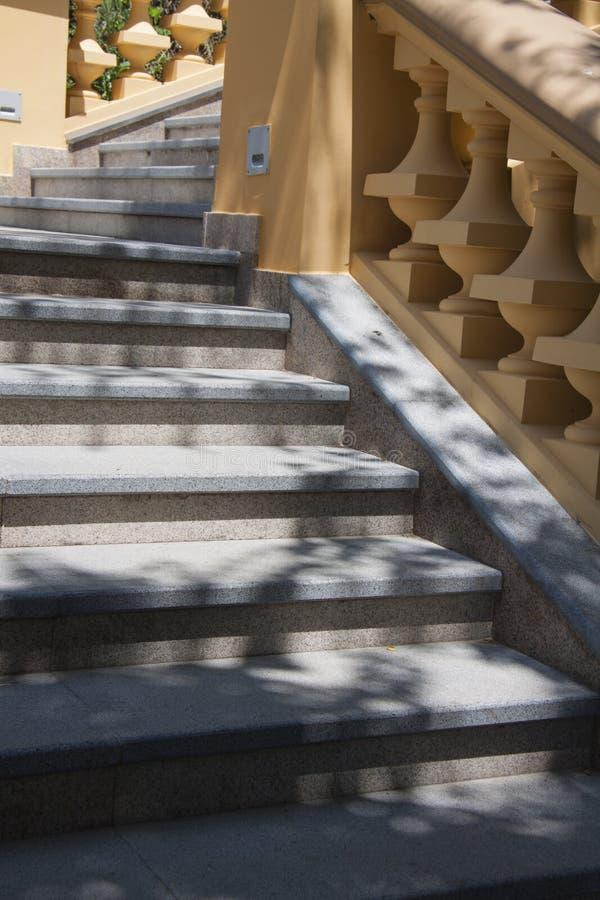 Escaleras en estilo clásico fotos de archivo libres de regalías