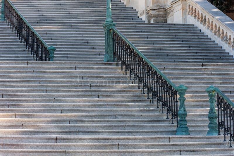 Escaleras en Washington fotos de archivo