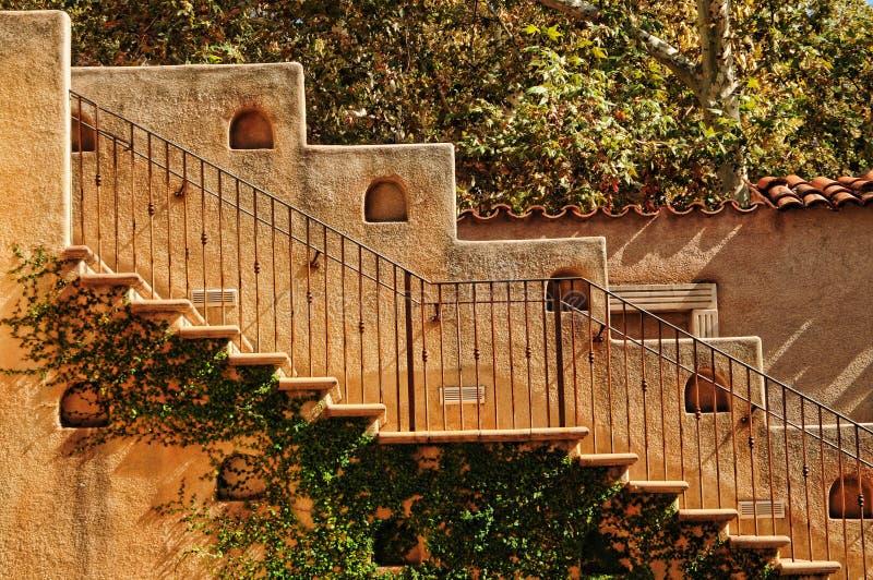 Escaleras españolas foto de archivo