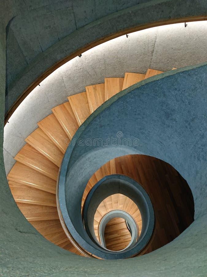 Escaleras espirales imágenes de archivo libres de regalías