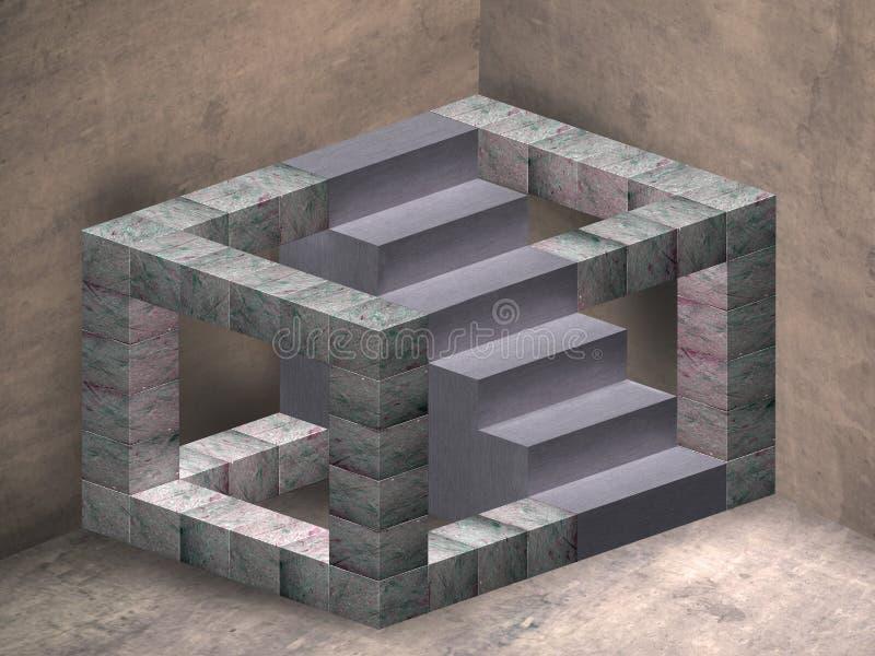Escaleras imposibles libre illustration