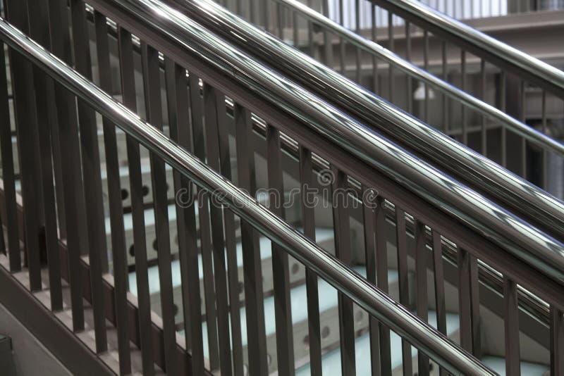 Escaleras Met Licas Modernas Foto De Archivo Imagen De
