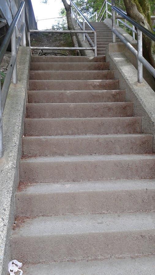 Escalier à l'avenir image stock