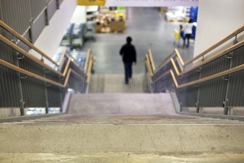 Escalier à la mémoire photographie stock libre de droits
