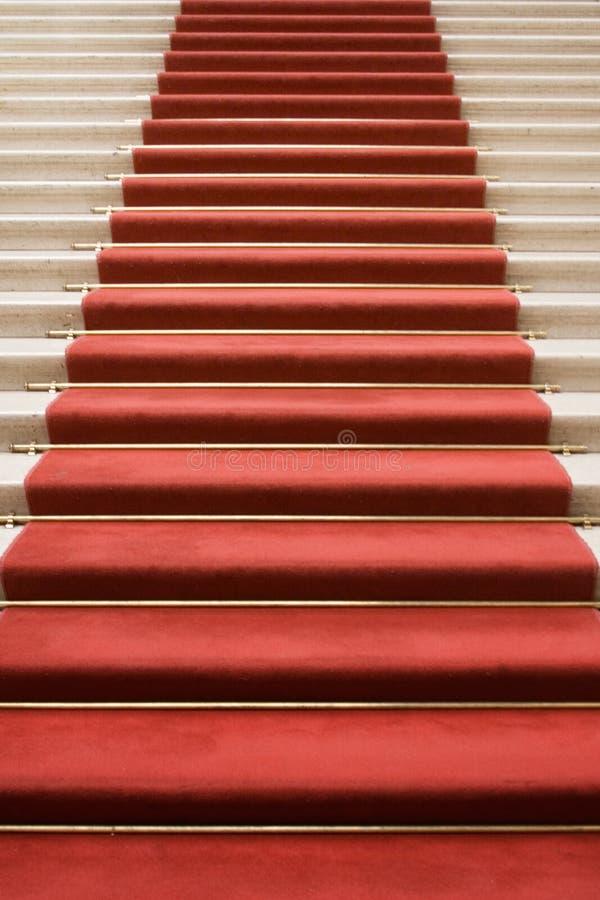 Escalier à la renommée photo libre de droits