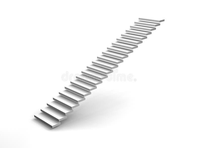 Escalier illustration stock