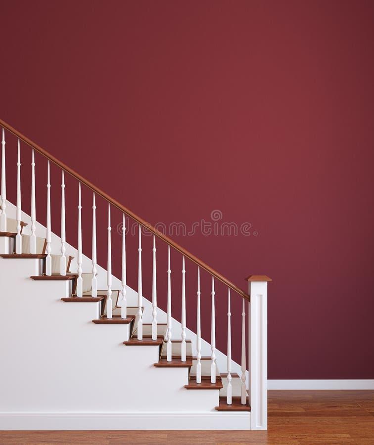 Escalier. illustration de vecteur