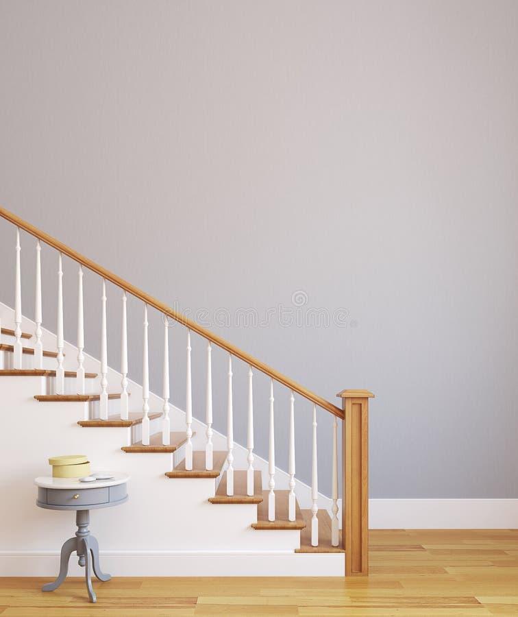 Escalier. illustration stock