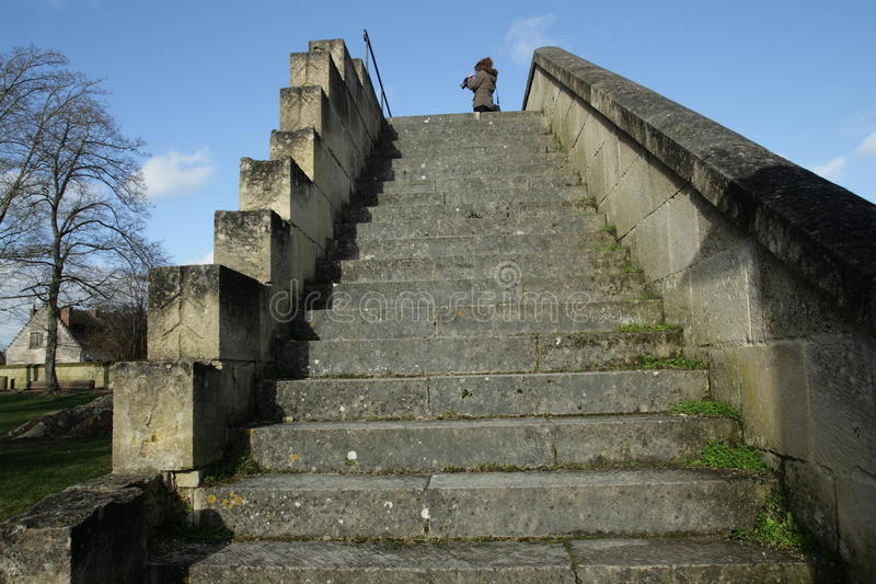 Escalier image stock