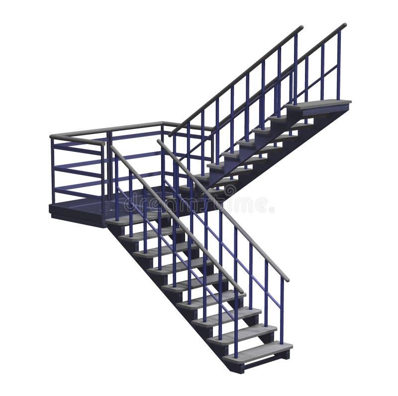 escalier illustration de vecteur