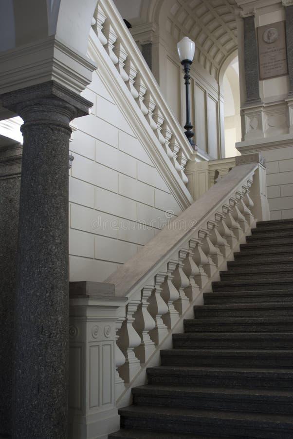 Escalier classique photo libre de droits