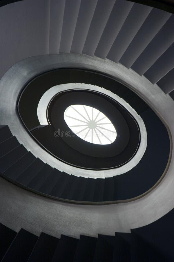 Escalier d'enroulement image libre de droits