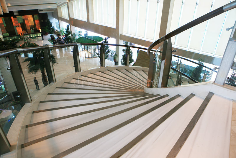 Escalier d'escargot photos libres de droits