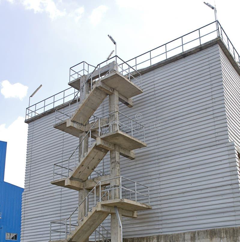 Escalier d'usine photo libre de droits