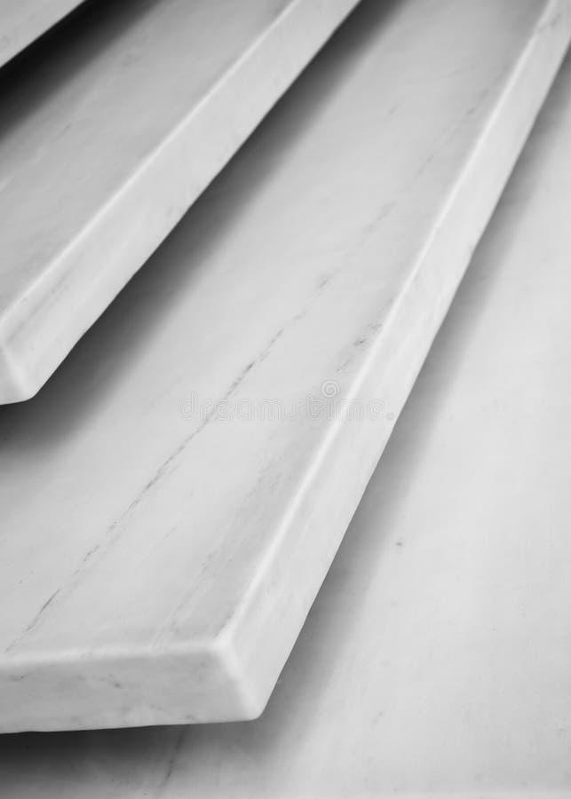 Escalier de marbre dans Athen image libre de droits