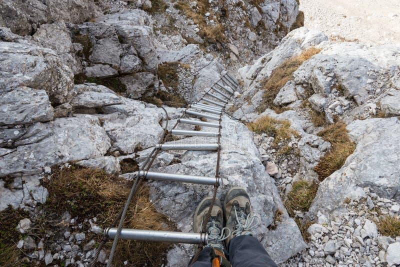 Escalier de montagne photos stock