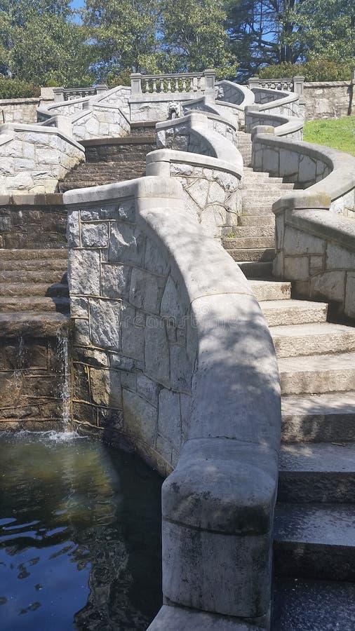 Escalier de parc photo libre de droits