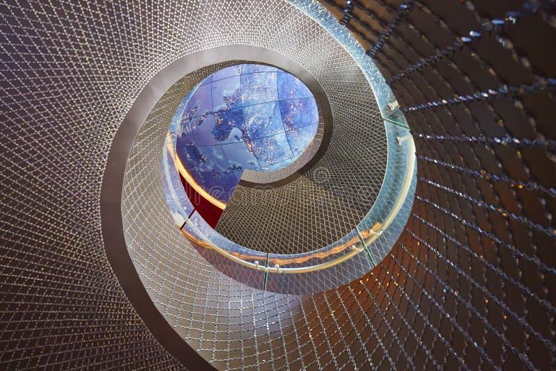 Escalier de rotation photo stock