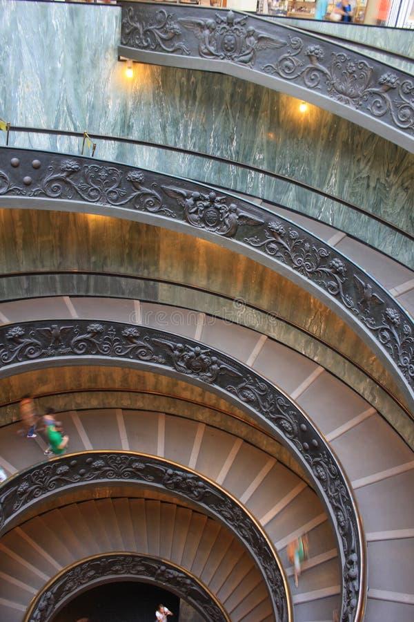 Escalier de Vatican photo libre de droits