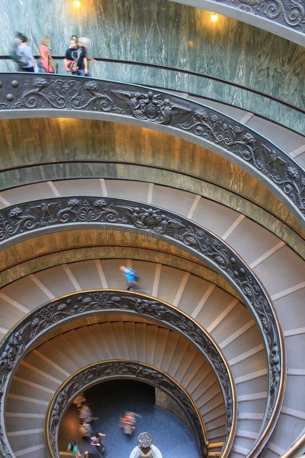 Escalier de Vatican photographie stock