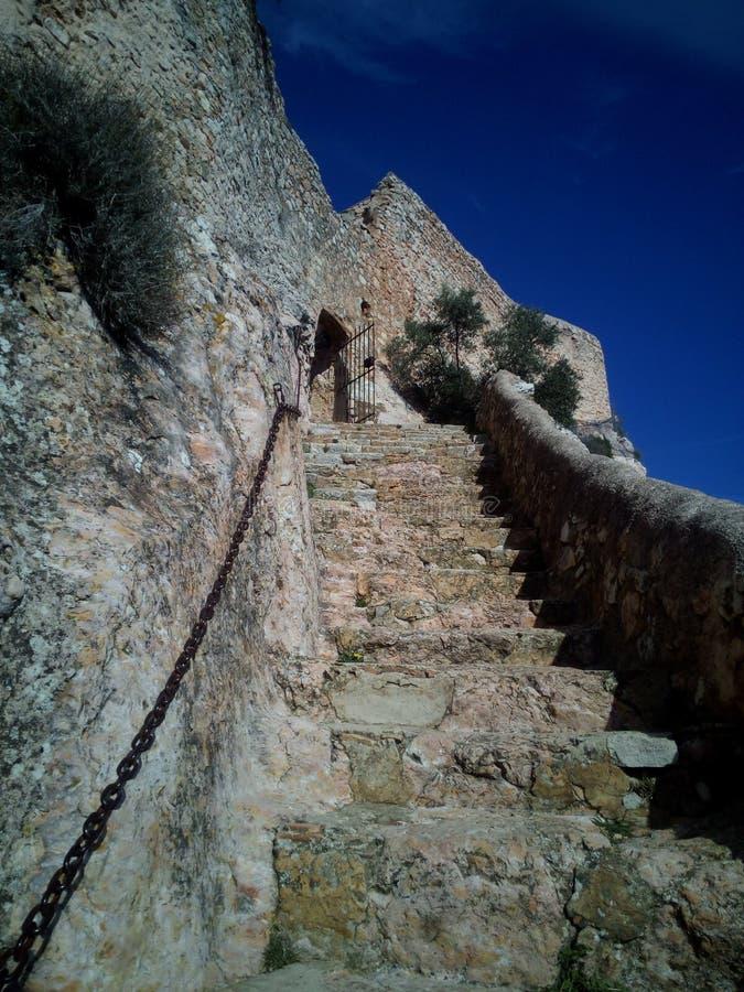 Escalier dedans  photo libre de droits
