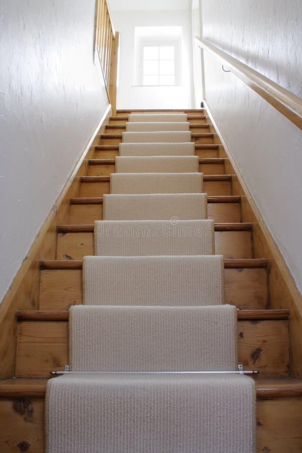 Escalier en bois photos stock