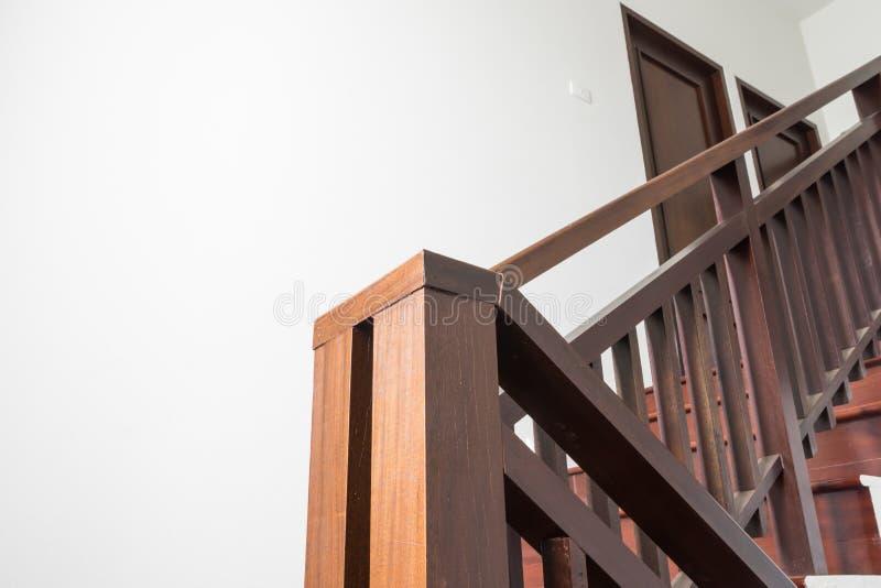 Escalier en bois 1 photos stock