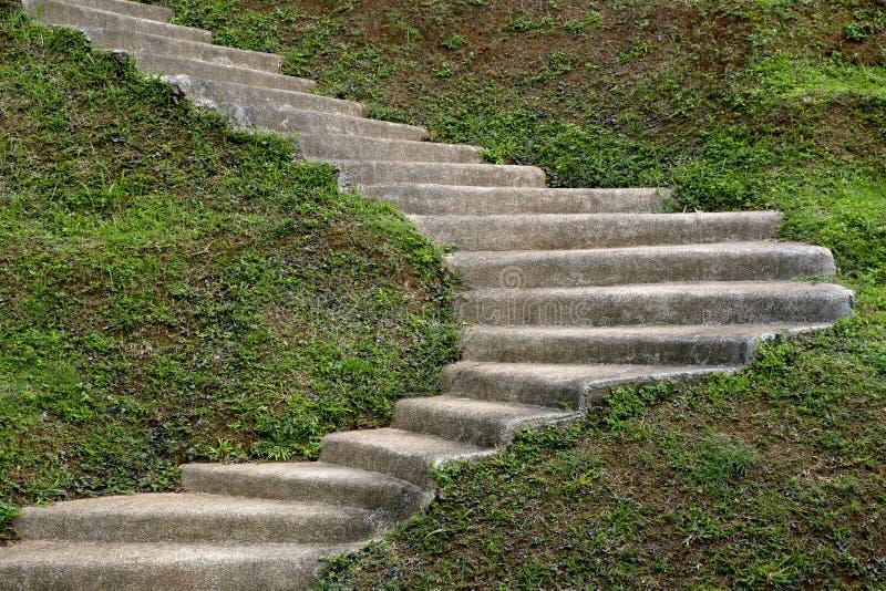 Escalier En Pierre D\'étape Dans Le Jardin Image stock - Image du d0 ...