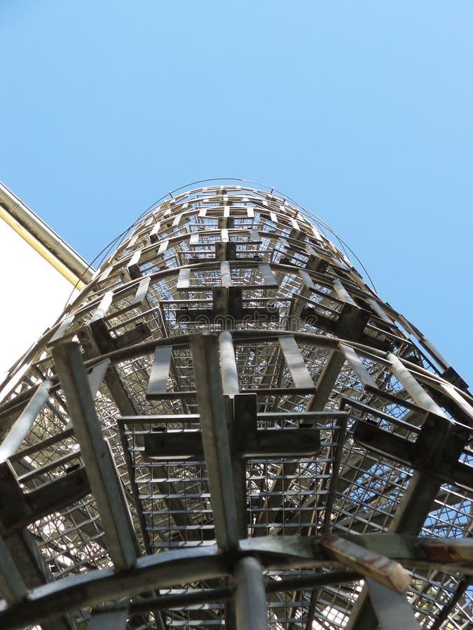 Escalier 2014 en spirale de Berlin Germany photographie stock