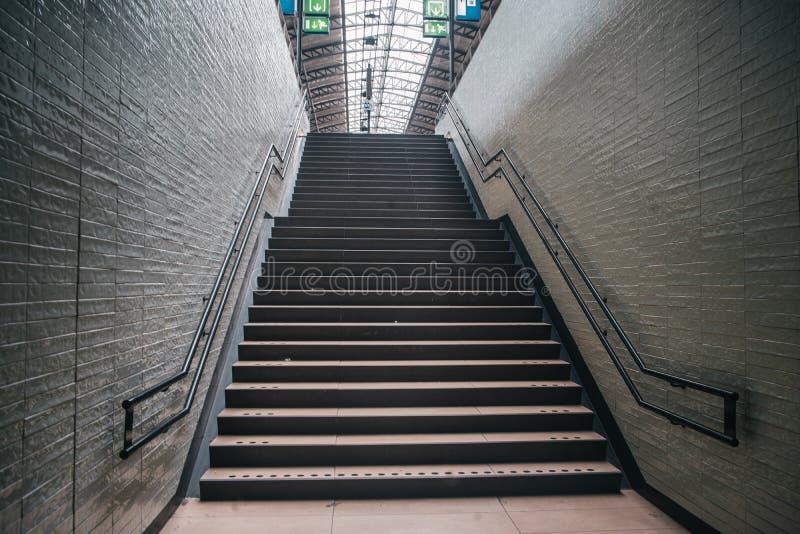 Escalier européen classique photo libre de droits