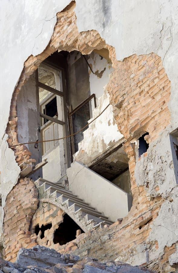 Escalier exposé - La Havane, Cuba images libres de droits
