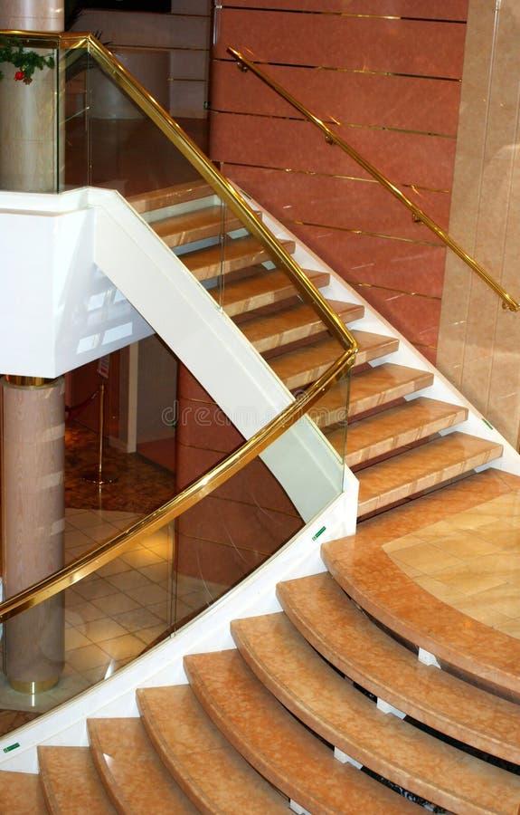Escalier luxueux photos libres de droits