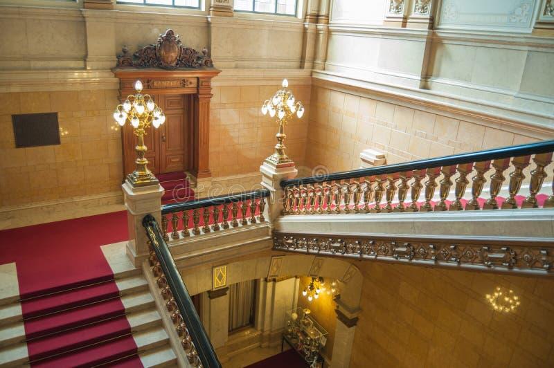 escalier luxueux photo stock