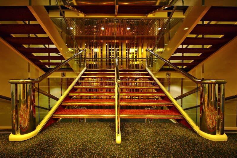 escalier luxueux images stock