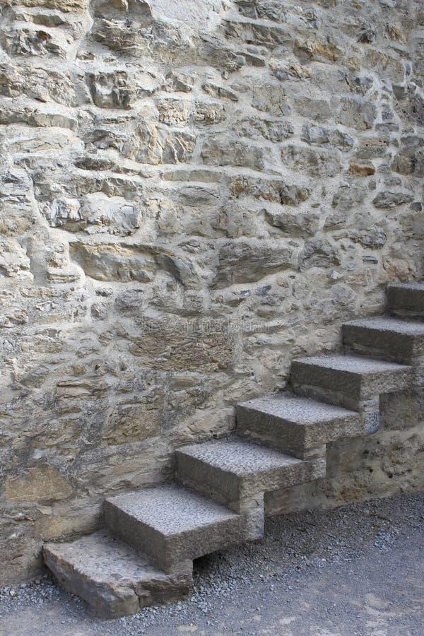 Escalier médiéval photo libre de droits