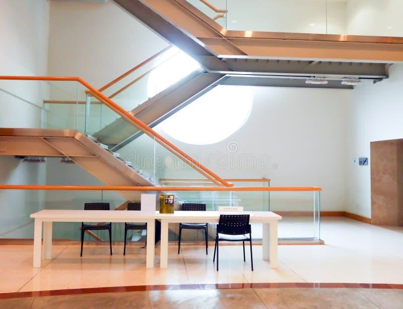 Escalier moderne photos stock