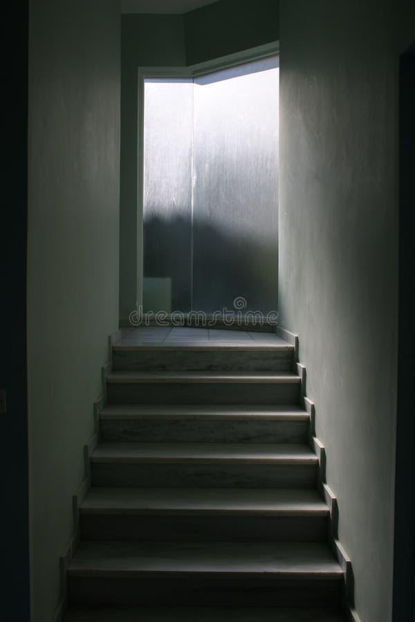 Escalier moderne photo stock