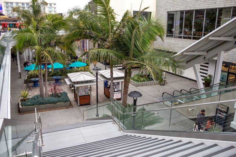 Escalier Pacifique de ville photographie stock