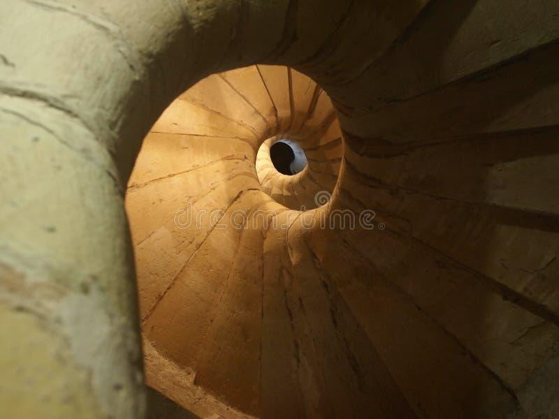 Escalier spiralé d'escargot photo libre de droits