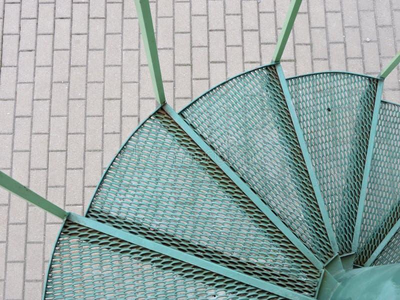 Escalier tourné photos libres de droits